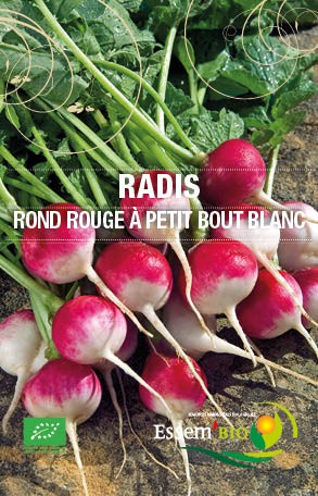 ROND ROUGE A PETIT BOUT BLANC - BIO
